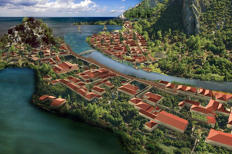 olympos-antik-kenti-boyutlu-modellemesi